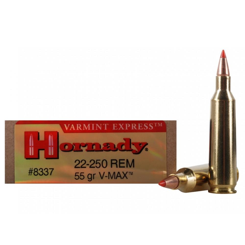22-250 REM 55GR(3,6 g) V-MAX