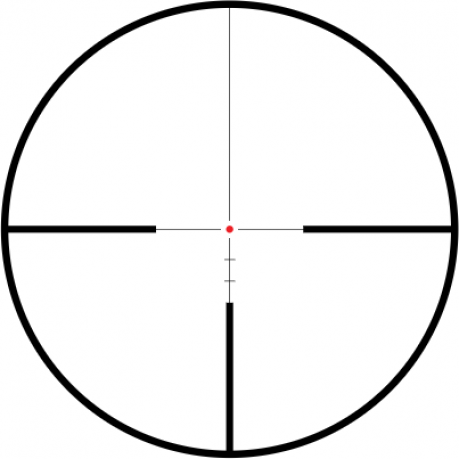 HAWKE LUNETA FRONTIER SF 2,5-15×50 LR.DOT/IR/30MM