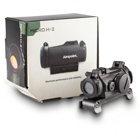 RED DOT SIGHT AIMPOINT MICRO H-2 CU PRINDERE BLASER