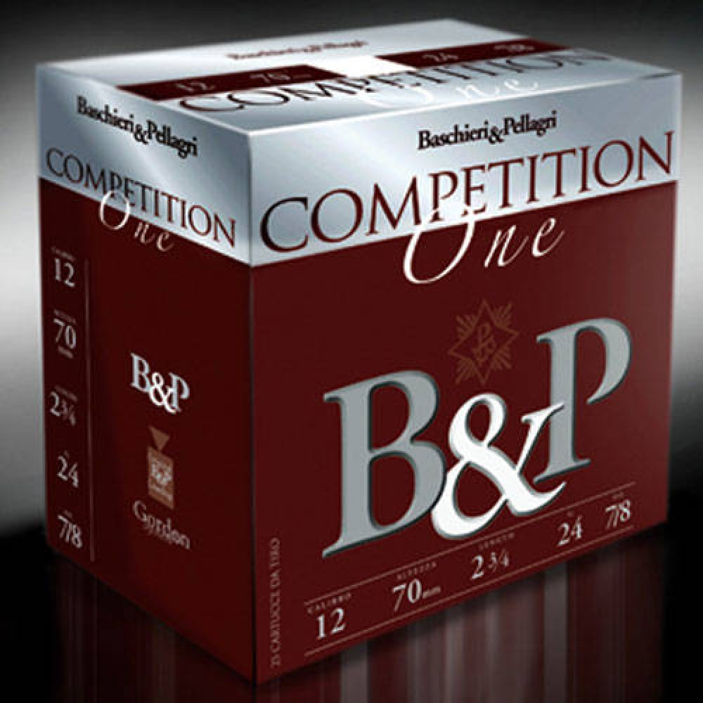 BASCHIERI & PELLAGRI CARTUS COMPETITION ONE 12/24G/2,4MM(7,5) SKEET-TRAP