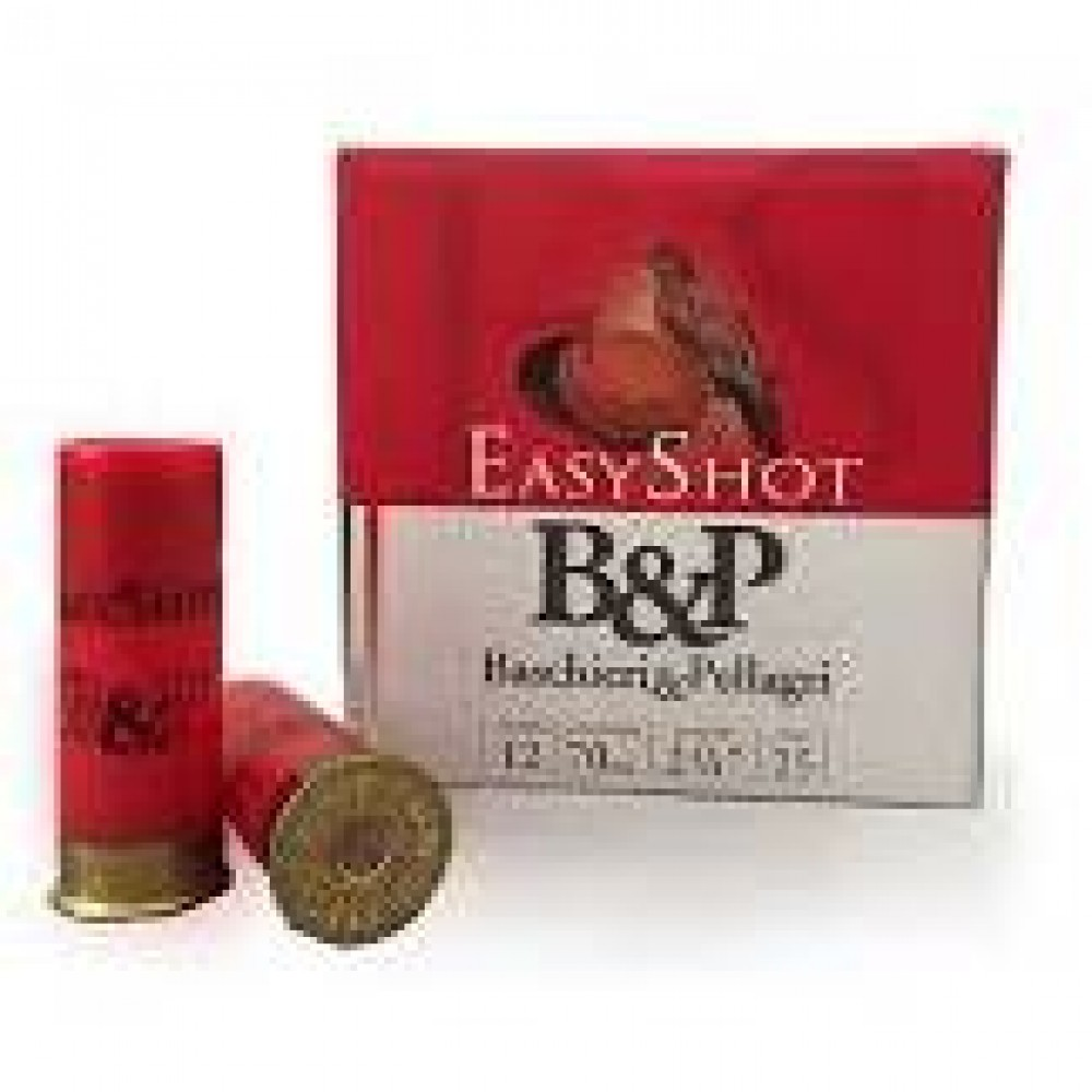BASCHIERI & PELLAGRI CARTUS B&P EASY SHOT 12/28/2,4MM(7,5) SKEET-TRAP