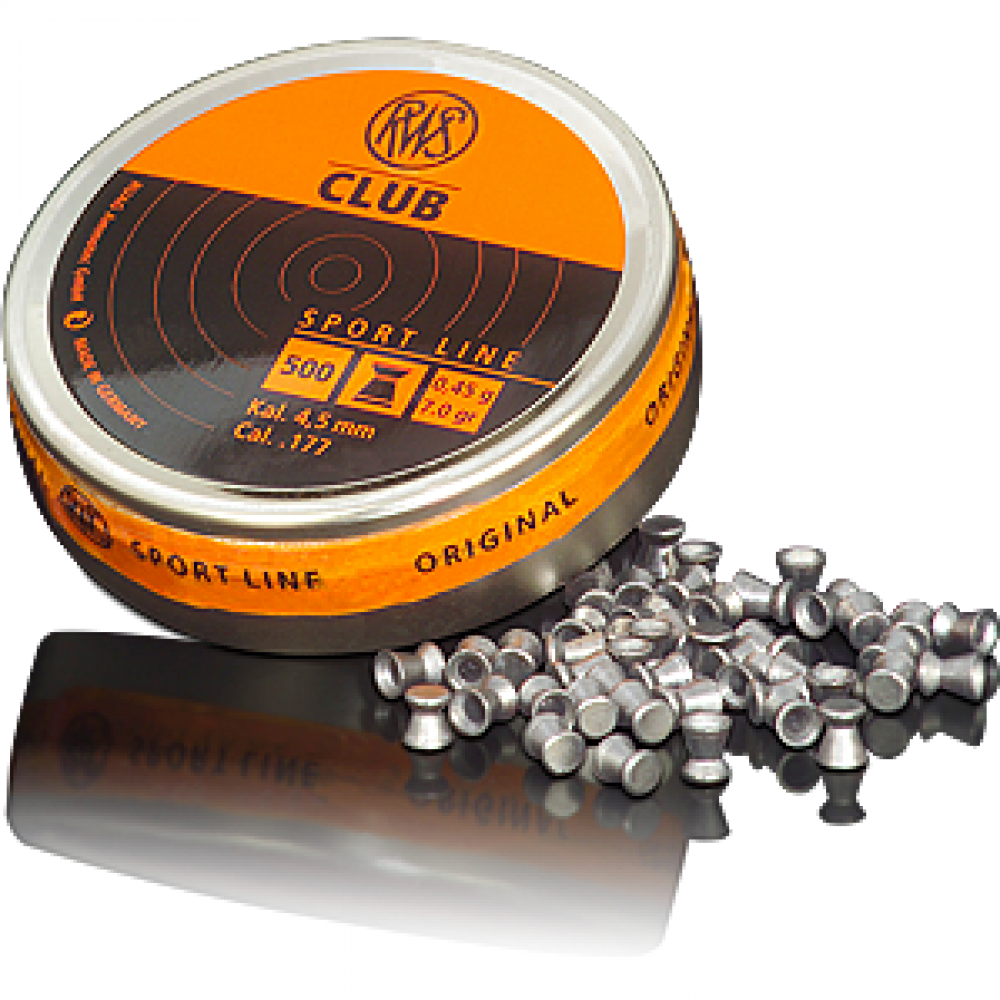 CUTIE SPORT LINE- CLUB 500BUC 4,5MM 0,45G RWS
