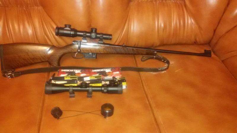 Arma vanatoare CZ527 lux calibrul 223 REM
