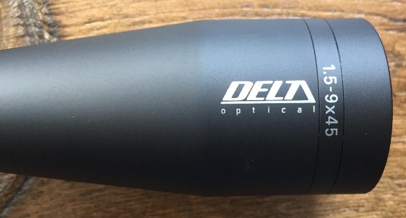 DELTA TITANIUM HD 1,5-9X45 IR