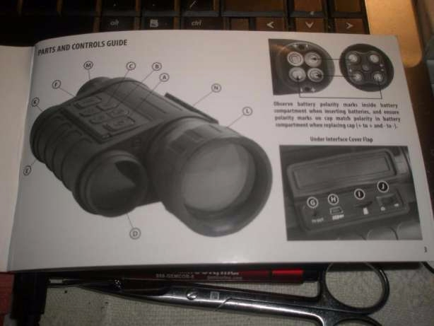 Monoclu Bushnell Digital Night Vision