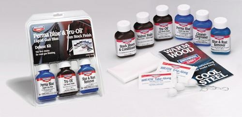 Tru Oil Deluxe kit, set profesional reconditionare arma vana