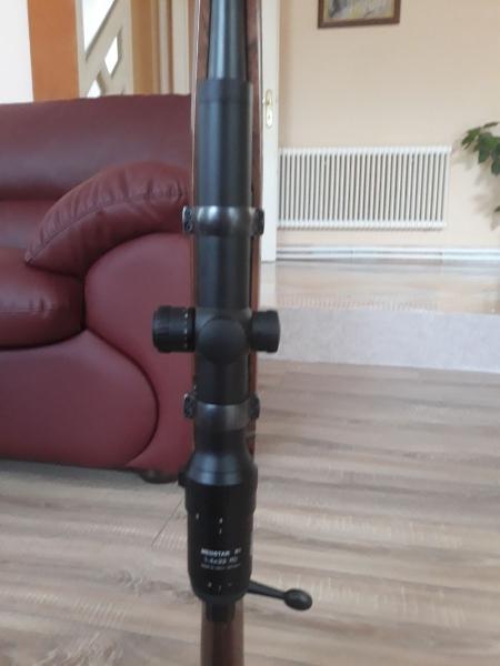 Vand carabina Browning A-bolt 300WM cu luneta mepota meost