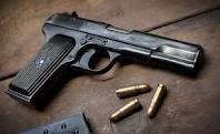 Vând pistol cu glonţ